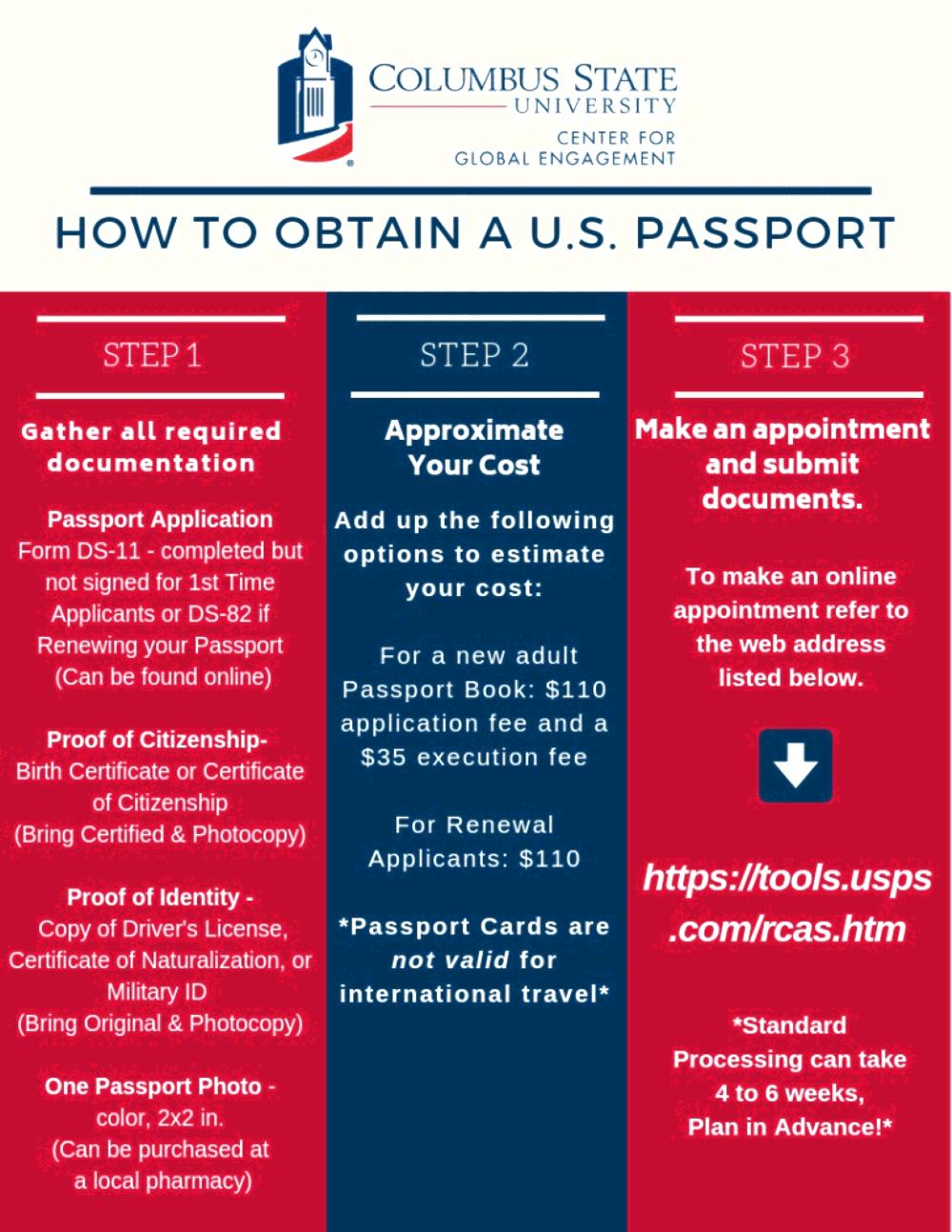 how to obtain a passport